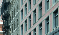 seeing lines everywhere (AnastasiaGleyzer) Tags: lines urban newyork architecture box geometrical shapes building