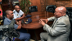 President Jacob Zuma visits Nyanga Police Station, 14 Feb 2017 (GovernmentZA) Tags: president jacob zuma conducts an unannounced visit nyanga police station