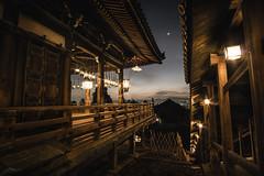 Evening at Nigatsudo (ScottSimPhotography) Tags: summer evening night quiet nigatsudo nara japan todaiji narapark temple wooden walkway platform shrine famous sightseeing trip visit dark japanese asia asian
