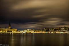 En del av Stockholm II (johan.bergenstrahle) Tags: 2017 finepics architecture arkitektur building byggnad cityscape evening hdr kväll longexposure långtid march mars stadsbild stockholm sverige sweden