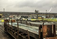 Feeling the Heat (Kingmoor Klickr) Tags: britishsteel scunthorpe steelworks yorkshireengine janus 2902 93 industrialrailway industry