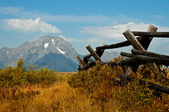 CunninghamFenceTwo (2) (Rich Mayer Photography) Tags: tetons grand teton wyoming landscape scenic scenery mountain mountains west western nikon