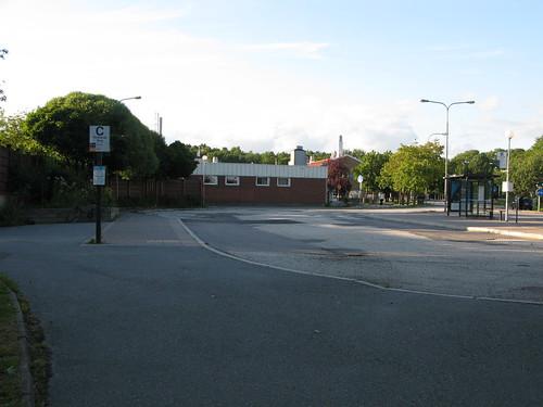 Bus stop _ busshållplats Torslanda Torg 2011
