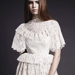MOBO Lace dress by fashion designer Lesley Mobo (CityPunch) Tags: fashion by dress designer lace lesley filipiniana mobo callado lesleymobo mobolondon