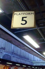 5 - Personal Photography Number Sequence (Jae at Wits End) Tags: city urban station sign train writing subway message symbol metro 5 interior text tunnel indoor location number figure signage inside publictransport signboard metropolitan numerals