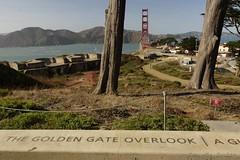 Presidio - 083015 - 11 - View of Golden Gate Bridge (Stan-the-Rocker) Tags: sanfrancisco nps sony goldengatebridge nationalparkservice presidio nex sel18200le stantherocker
