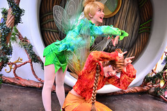 Fawn and Tinkerbell (EverythingDisney) Tags: disneyland tinkerbell disney pixie fairy fawn dlr pixiehollow