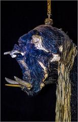 C2930-Escultura jibariforme (Eduardo Arias Rbanos) Tags: sculpture museum lumix muse panasonic escultura museo g6 fang tusk lachaisedieu colmillo eduardoarias jbaro eduardoariasrbanos symbialis