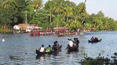 Boat Race 2015 # 8 (video) (Abraham Jacob N) Tags: india canon kerala watersports onam kottayam kumarakom boatrace vallamkali canonpowershotsx130 kavanattinkara kavanattinkaratourismboatrace