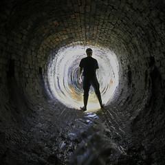 Manchester Drains (Craig Hannah) Tags: uk england brick river underground manchester stream beck drain explore burn oldham brook culvert 2015 chadderton greatermanchester craighannah
