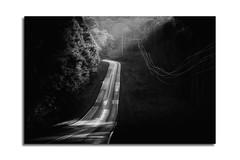 Two Lane Blacktop (shutterclick3x) Tags: blackandwhite bw rural countryside backroads ruralgeorgia frankloose