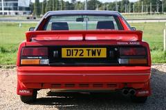 1986 Toyota MR2 (davocano) Tags: brooklands d172twv