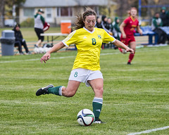 A77V8347 (Don Voaklander) Tags: woman college sports sport female women university edmonton soccer varsity cis pandas universityofcalgary intercollegiate womens canada west field university canadian alberta sport voaklander foote donvoaklander