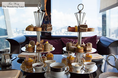 Our tiers of afternoon tea bites (thewanderingeater) Tags: hongkong ritzcarlton kowloon afternoontea cafe103 luxuryhotel ritzcarltonhongkong