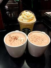 Drink from Starbuck in Raffles City (Rachel Toh) Tags: starbucks