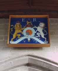 Royal Arms of Elizabeth II, Ibstock (Aidan McRae Thomson) Tags: church painting leicestershire ibstock royalarms
