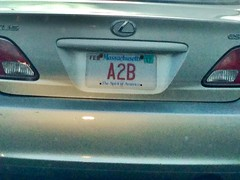 Random Photos! - Where does that car get you from again?! (Polterguy30) Tags: funny random licenseplate licenseplates