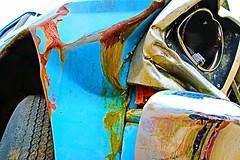 Stress (Bella Lisa) Tags: stress fordtruck ford100 oldfordtruck junkedcar canonliveview artbold canonartbold
