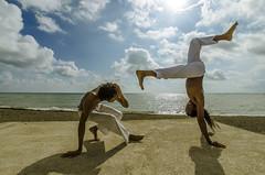 Capoeira Beach Kingston (E-C-K ART) Tags: beach youth project capoeira artistic kingston jamaica bullbay jamaika cativeiro alafia