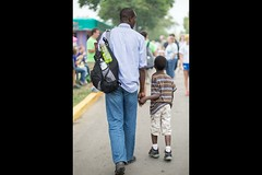 Father and son (BobbiLe Ba Photography) Tags: boy portraits kid photographer african father son backpack tall senegal twincities relationships mnstatefair minneapolisminnesota bobbilendiaye bobbilebaphotography