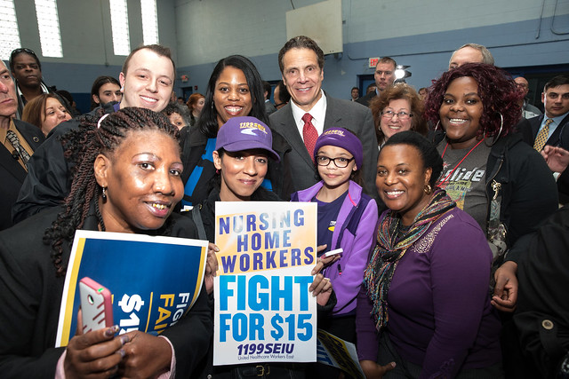 Governor Cuomo and Mayor Brown Announce $15 Minimum Wage for Employees of City of Buffalo