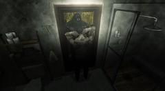Caged (The Gentleman Dystopic) Tags: lighting moon werewolf studio shadows mesh 7 avatars fantasy secondlife deco occult gen ooo gentleman zeb ulrik gman neutral aesthetic tmd flit dystopic tonktastic niramyth ~bazar~ doomdrot