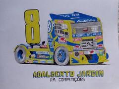 Adalberto Jardim's VW, Frmula Truck 2015 (EduardoCBS) Tags: brasil vw truck volkswagen drawing racing jardim formula frmula corrida desenho constellation rm caminho 2015 adalberto competies