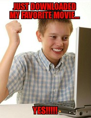 First Day on the Internet Kid (dylan.unknown5150) Tags: favorite movie kid day technology yes internet free first computers excited meme just rush downloaded download movies euphoria dopamine