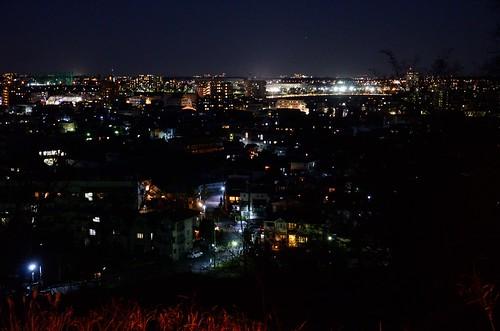 Night View at Yomiuri V Road 4