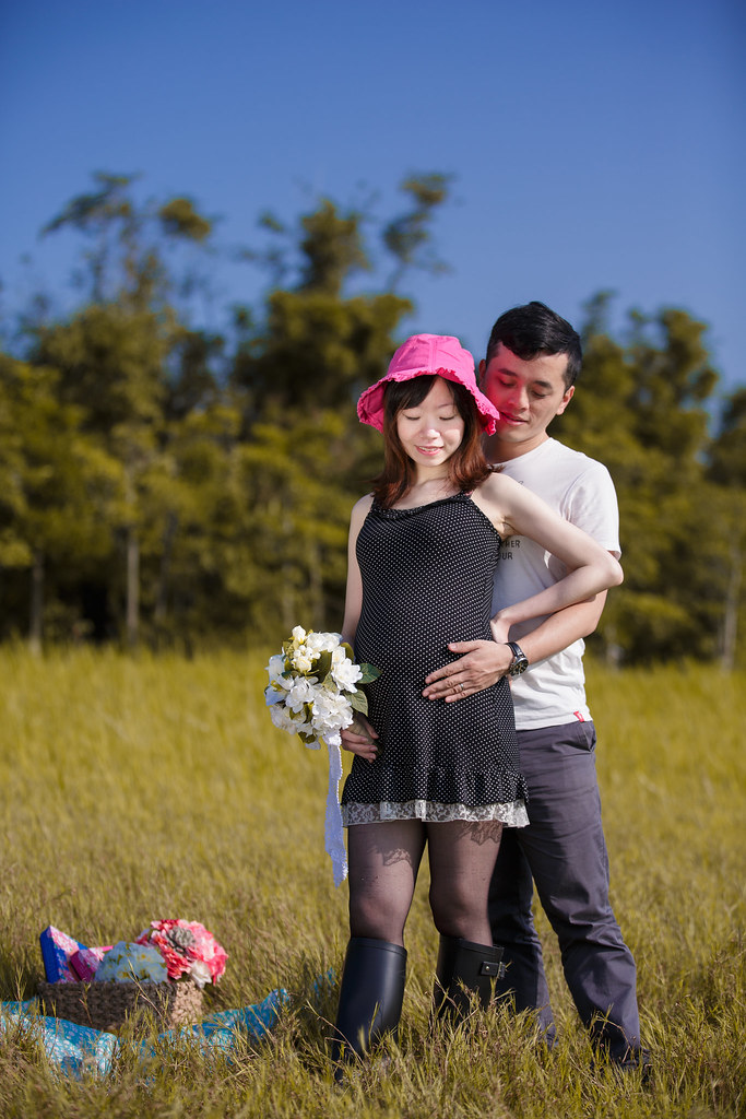 孕婦寫真,孕婦攝影,樹林孕婦,芒草孕婦,草原孕婦,Ajax&Far068