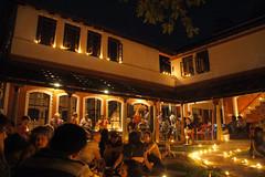 Deepam_2015_9427 (Manohar_Auroville) Tags: india festival traditions pooja lamps luigi auroville fedele manohar deepam