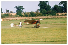 Bleriot G-AANG Shuttleworth Collection, Shuttleworth Pageant 2002 (Richard.Crockett 64) Tags: bleriot xi louisbleriot monoplane gaang shuttleworthcollection shuttleworthpageant oldwarden bedfordshire airshow 2002