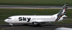 Boeing 737-4Q8 TC-SKD (707-348C) Tags: dusseldorf eddl dus skyairlines syh b734 airliner boeing jetliner passenger tcskd boeing737