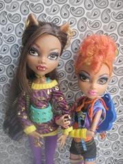 School's Out Clawdeen & Sisters Pack Howleen (lita_liu) Tags: mattel monster high doll clawdeen wolf howleen schools out sisters pack