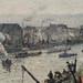 PISSARRO Camille,1896 - Port de Rouen, St-Sever (Orsay) - Detail 29