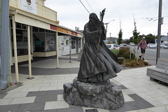 Gandalf the Grey (duncan) Tags: miramar wellington newzealand gandalfthegrey gandalf roxycinema statue