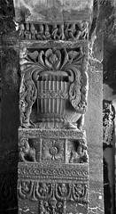 Kailas Temple pillar (AJ_Khoje) Tags: pillar kailasmandir verul india aurangabad maharashtra shiva shivamandir god godshiva design stonedesign