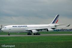 F-WWJM (@Eurospot) Tags: fwwjm a340 airfrance blagnac toulouse airbus