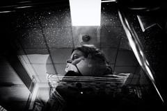 (Chris Moret) Tags: bw marianne reflections portrait december 2016 rotterdam rotterdamzuid