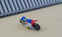 Nobu and his Honda Ahoudori (08) (F@bz) Tags: cyberpunk bike motorcycle lego wheel sf space scifi akira honda moc