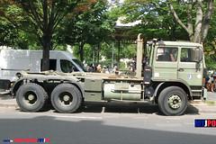 BDQJ09-4615 RENAULT G290 VTL (milinme.myjpo) Tags: frencharmy renault g290 vtl véhicule de transport logistique remorque rm19 trailer bastilleday