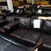 Brown leatherette suite 3 + 1 + 1