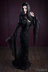 keeping it nerdy morticia 4 (CE Photogenetix) Tags: select morticia addamsfamily addams gothic goth cosplay costume halloween character portrait tv movie horror spooky creepy beauty beautiful woman female dark darkart gown canon40d christinaedwards