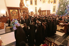 073. Nativity of the Lord at Lavra / Рождество Христово в Лавре 07.01.2017