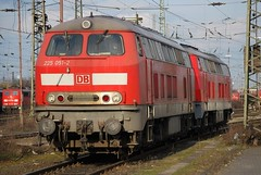 Oberhausen West (EOBR) 22 Mar 2009 (hayling billy) Tags: 232 225 diesel dbnl 140 155 152 151 189