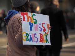 This Pussy Grabs Back (Professor Bop) Tags: womansmarch taketothestreets protest resist antitrump stoptrump marching marchers women protesters nyc newyorkcity 400000marchers thispussygrabsback olympusem175mmf18 womensmarch