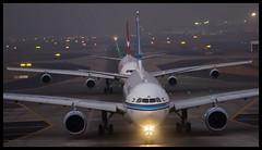 "Kuwait Airways Airbus A330-200 9K-APD ""Al Seef"" Mumbai (VABB/BOM) (Aiel) Tags: kuwaitairways airbus a330 a330200 9kapd alseef mumbai bombay canon60d canon24105lis"