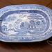 Large Victorian meet plate
