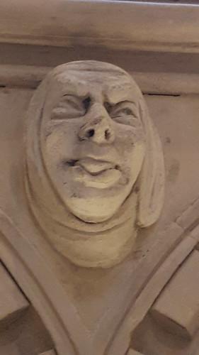 Humorous Gargolyes, Temple Church, Knights Templar, City of London, London