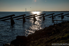 20170121-IMG_2504 (SGEOS@EARTH) Tags: marken holland zuiderzee ijsselmeer water sun lucht sky vuurtoren lighthouse winter canon